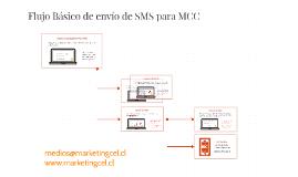 Flujo Basico Envío SMS MCC