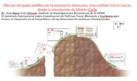 efectos del gasto publico en la ecomex