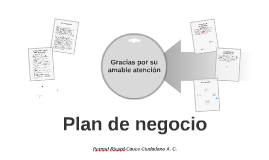 Copia de Plan de  negocio grupo 2