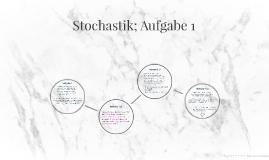 Stochastik Aufgabe 1