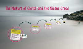 The Nature of Christ and the Nicene Creed