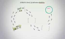 A Walk in Paris, by Salvatore Rubbino