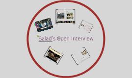 Salad's Open Interview