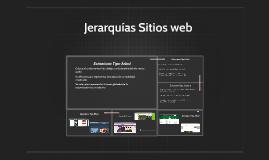 Jerarquias Sitios web