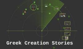 Greek Creation Stories
