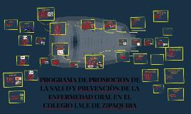 Copy of PROGRAMA DE PROMOCION DE LA SALUD Y PREVENCIÒN DE LA ENFERME