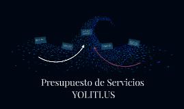 Presupuesto de Servicios