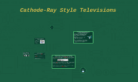 Cathode-Ray Style Televisions