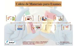 Coleta de Materiais para Exames