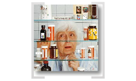 Poly pharmacy in the older adult