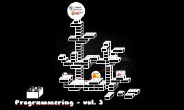 Programmering - vol. 3