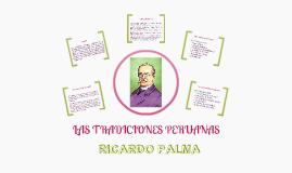 LAS TRADICIONES PERUANA DE RICARDO PALMA