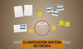CLASIFICACIÓN SISTEMA BETHESDA