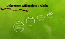 Uitkomsten wijkanalyse Brukske