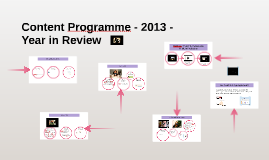 Copy of Content Programme 2013