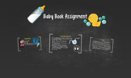 Baby Book Assignment