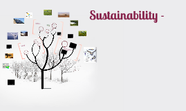 Sustainability - the idea that humans can continue to develo