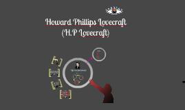 Copy of H.P Lovecraft