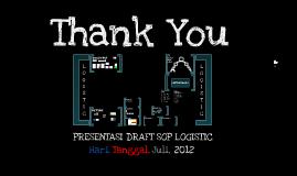 Presentasi Draft SOP Logistic