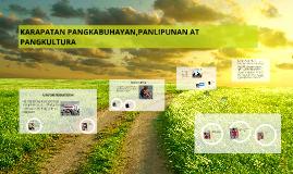 Copy of KARAPATAN PANGKABUHAYAN,PANLIPUNAN AT PANGKULTURA