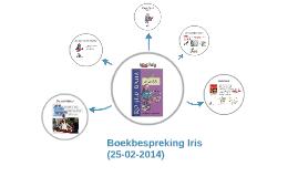 Boekbespreking Iris 25-02-2014