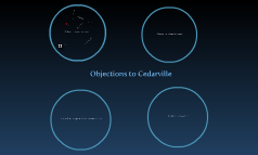 Objections to Cedarville