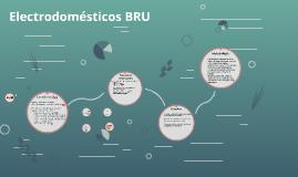 Electrodomésticos BRU
