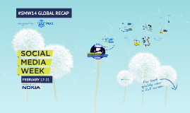 Social Media Week 2014 Recap