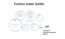 fontus water bottle