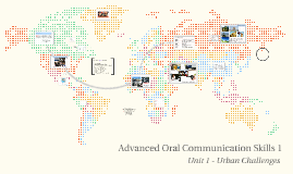 Advanced Oral Communication Skills 1