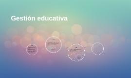 Gesión educativa