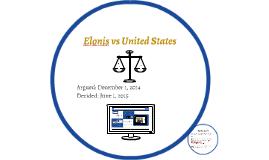 Elonis vs United States