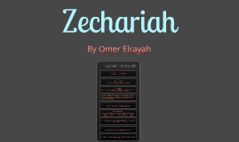 Copy of Prophet Zechariah