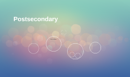 Postsecondary