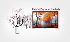 Field of Autumn: Analysis