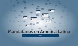 Presidentes en América Latina