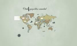 Orden geopolítico mundial