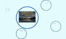 El lago Greve y su interaciones en el entorno