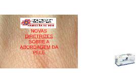 Copy of NOVAS                DIRETRIZES SOBRE A ABORDAGEM DA PELE