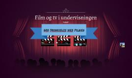 Film og tv i uv.