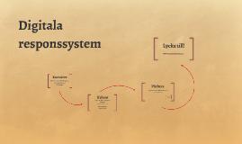 Digitala responssystem