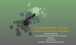 Two Different Worlds - One Aim: A Conversation About Curricu