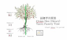 Henry Tam's family tree