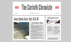 Headlines from Acts: Acts 18 & 19