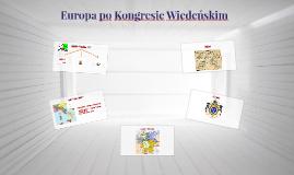 Europa po Kongresie Wiedeńskim