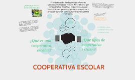 Copy of COOPERATIVA ESCOLAR