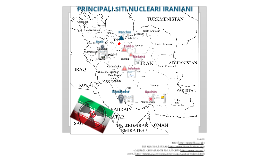 Principali siti nucleari iraniani