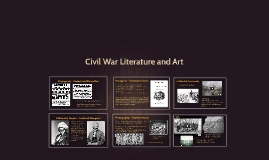 Civil War Literature and Art