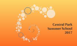 Central Park Summer School 2017