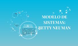 MODELO DE SISTEMAS: